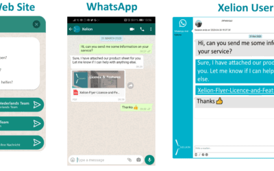 Xelion offers WhatsApp integration